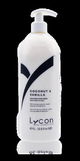 LYCON Лосьон для рук и тела-кокос и ваниль