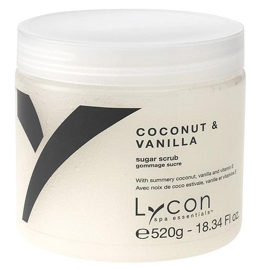 LYCON Скраб для тела-кокос и ваниль