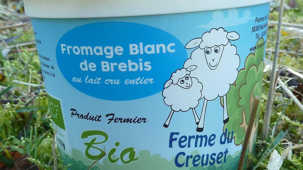 fromage blanc de brebis 500g