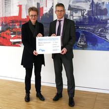 Stadtwerke spenden Tabula e.V. in Wolfsburg 2.500 Euro