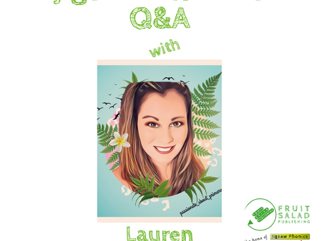 Jigsaw Phonics Q&A with Lauren @passionate_about_primary