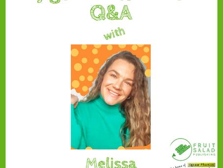 The Jigsaw Phonics Q&A with Melissa, @iteachsen