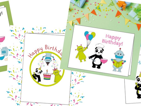 🎁 FREE JP Birthday Card & Colouring Collection!