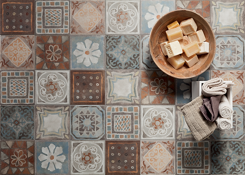 Italian style decorative tiles