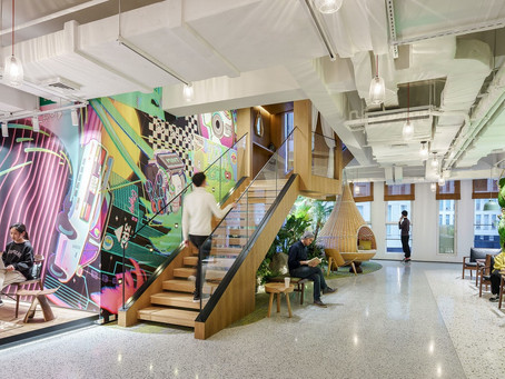 Three Innovative Workplace Design Projects in China by M Moser Associates