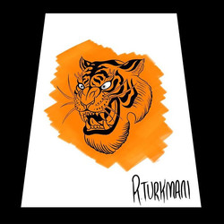 Tiger for sale, tattoo won't look exactl