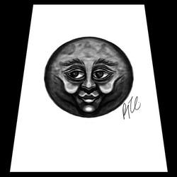 Hey Moon! 🌚_._._._._._._