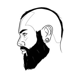 Self portrait illustration..