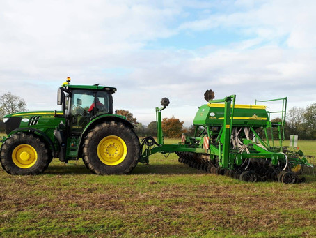 Damp fields and Direct Deere