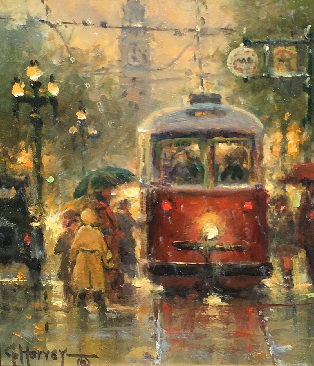 SOLD - Wet Morning - San Francisco