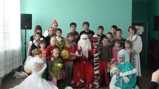 Новый год в ГБООУ школе-интернат №3