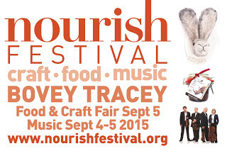 Nourish Festival 2015 Bovey Tracey