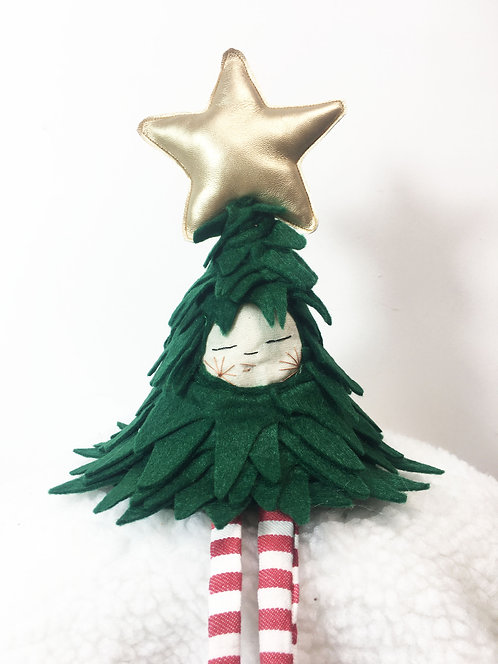 The small Christmas tree with Gold star, PRE ORDER