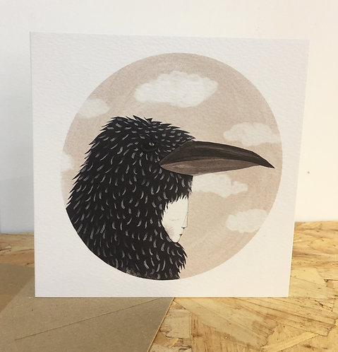 Crow limited edition card