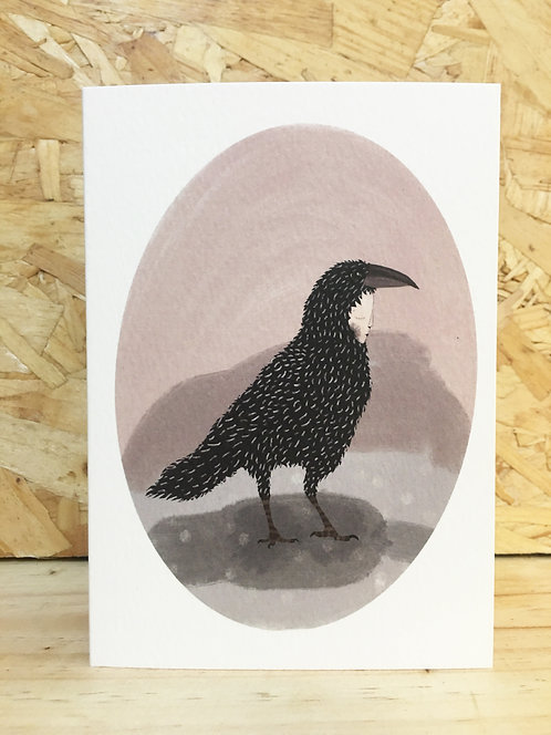 'Crows card' limited edition card