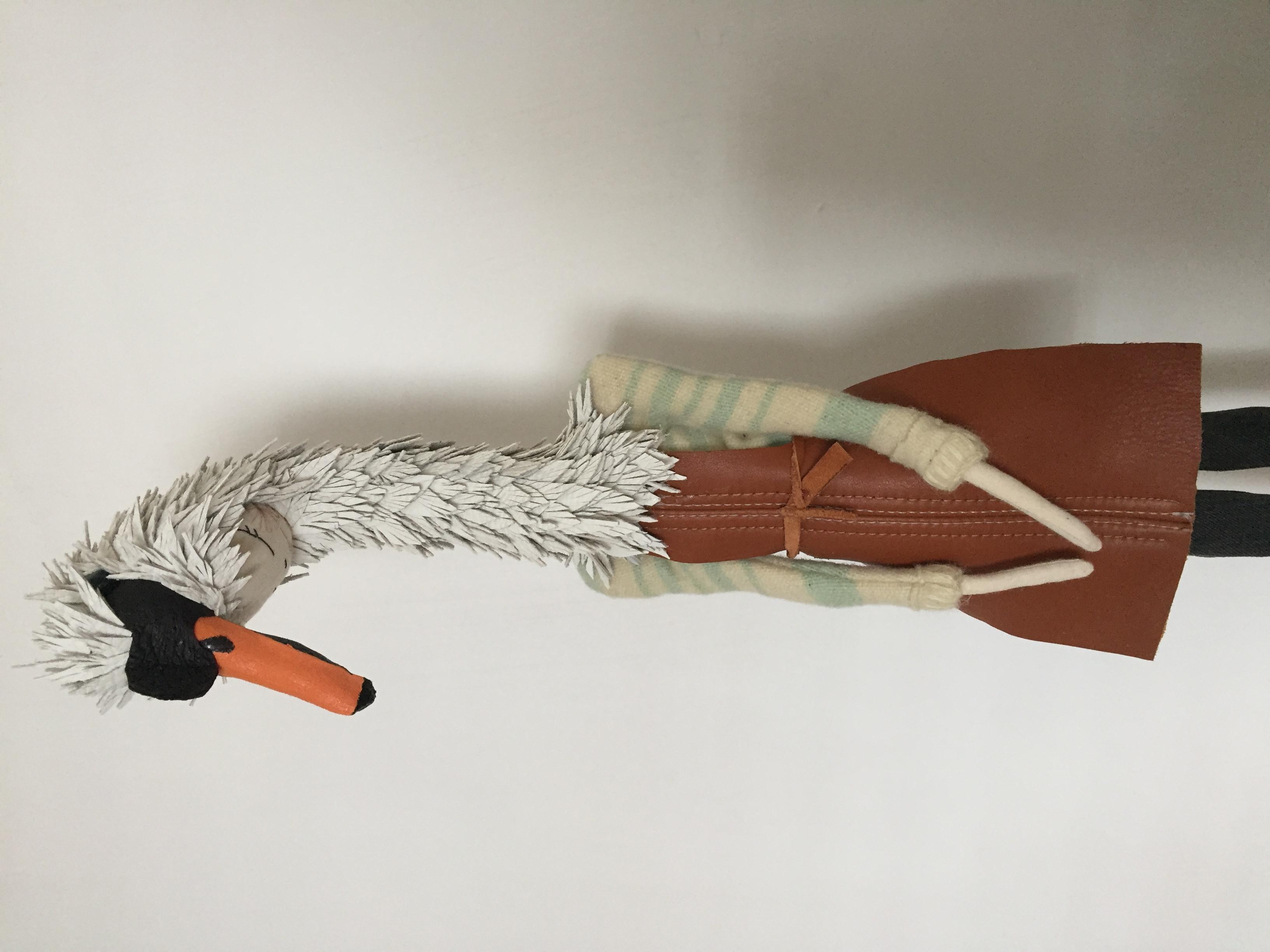 swan in apron 2017
