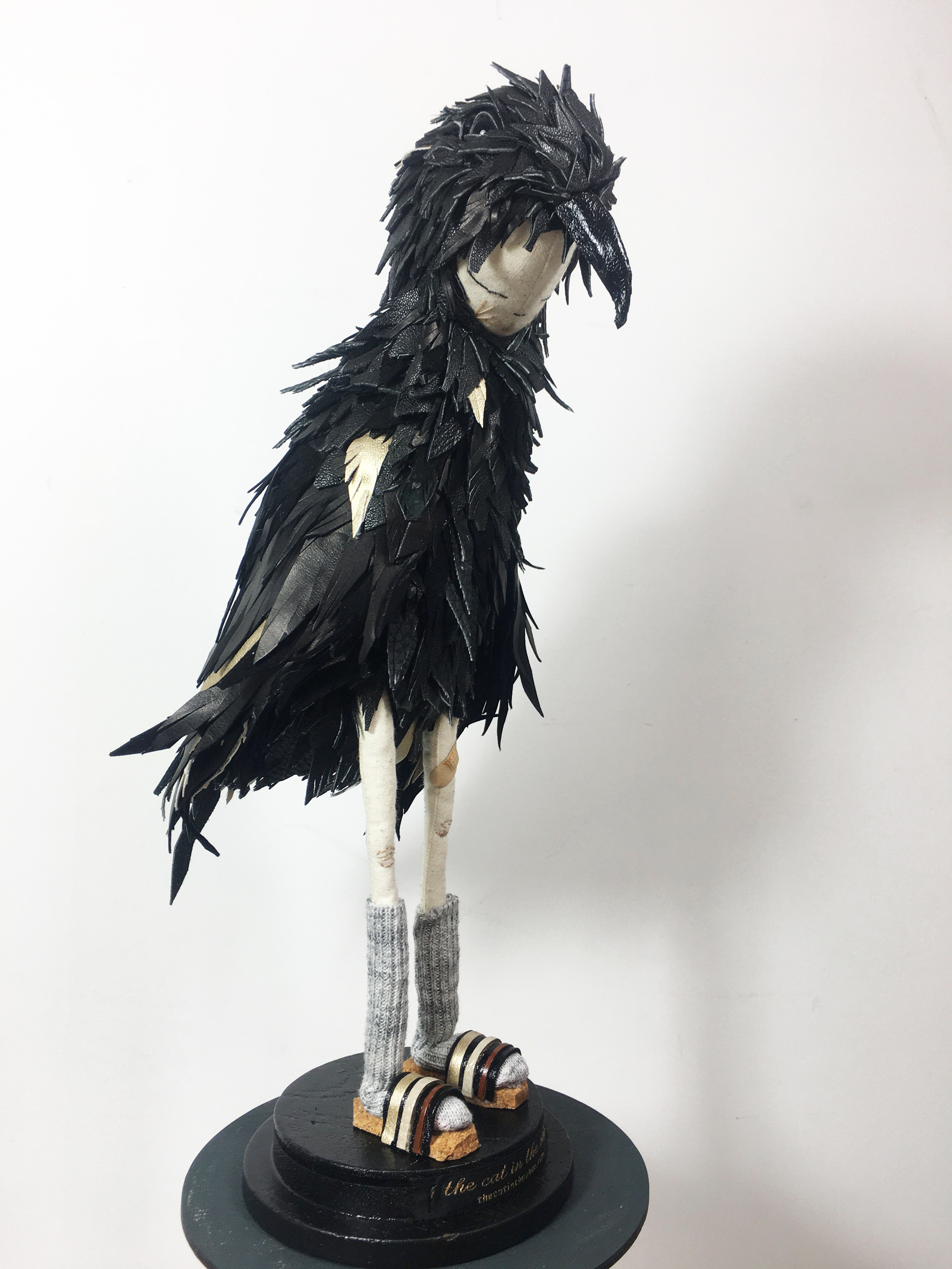 crow sculpture