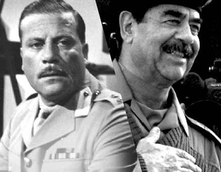When Oliver Reed met Saddam Hussain...