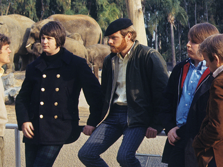 """Let's not think about tomorrow"": Brian Wilson and Pet Sounds"