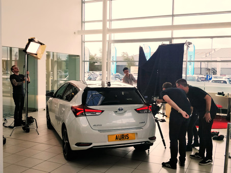 Work: Producer on Western Toyota 'Funk' hybrid vehicle campaign
