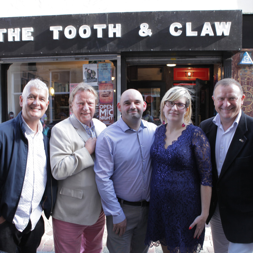 Tooth & Claw group photo