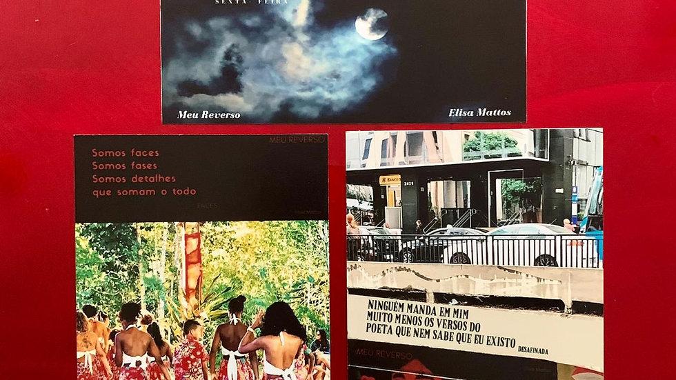 Kit de Imãs: Faces/ Desafinada/ Sexta-Feira