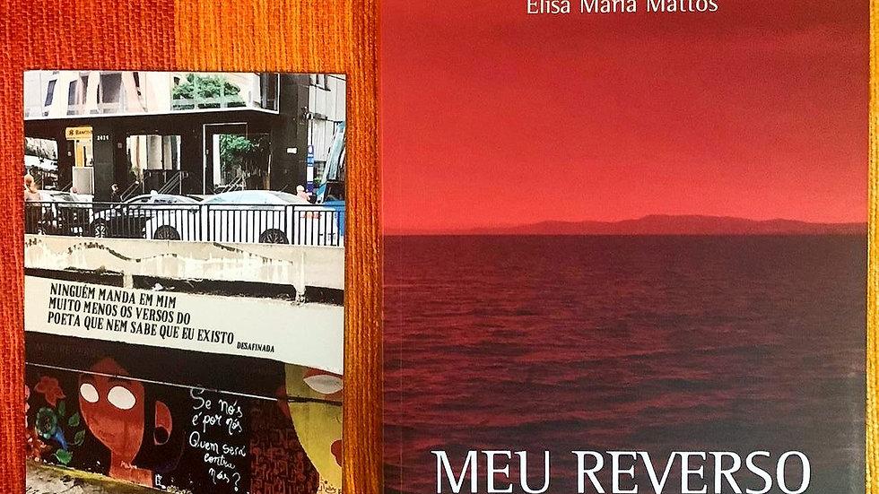 """Kit Meu Reverso + Imã Poético """"Desafinada"""""""