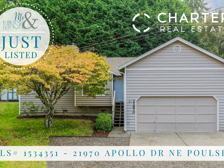 21970 Apollo Dr NE, Poulsbo: JUST LISTED
