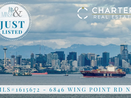 JUST LISTED: 6846 Wing Point Rd NE