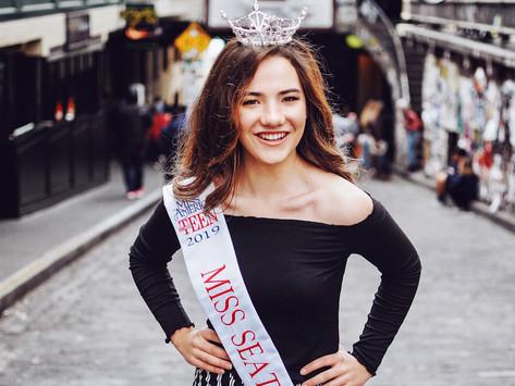 Emalee Nazarino: Miss Seattle's Outstanding Teen 2019 - My Beautiful Mariposa