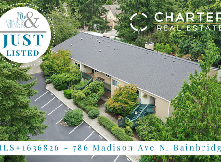 NEW LISTING: 786 Madison Ave N. Bainbridge Island