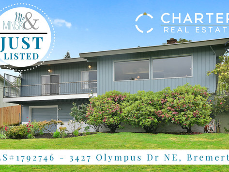 NEW LISTING: 3427 Olympus Dr NE, Bremerton