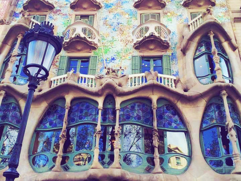Spain: Grounding and Elevation in Barcelona's Springtime