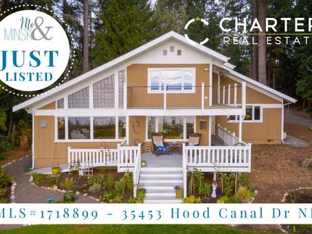NEW LISTING: 35453 Hood Canal Dr NE, Hansville