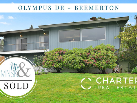 Olympus Dr - Bremerton - SOLD!