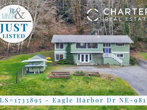 NEW LISTING: 7011 Eagle Harbor Dr NE, Bainbridge Island
