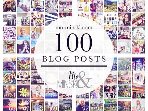 Mo-Minski & Co. 100th Post!