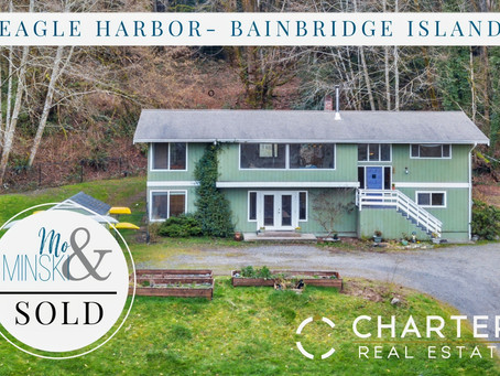 Eagle Harbor-Bainbridge Island-SOLD!