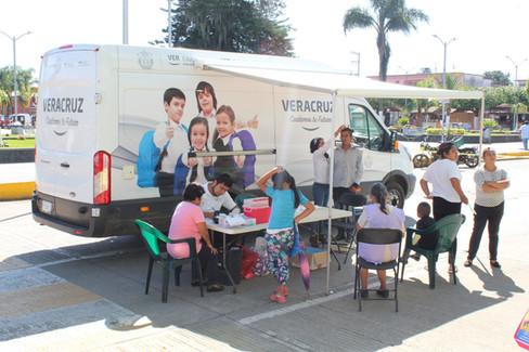 Caravana de la salud Atención gratuita