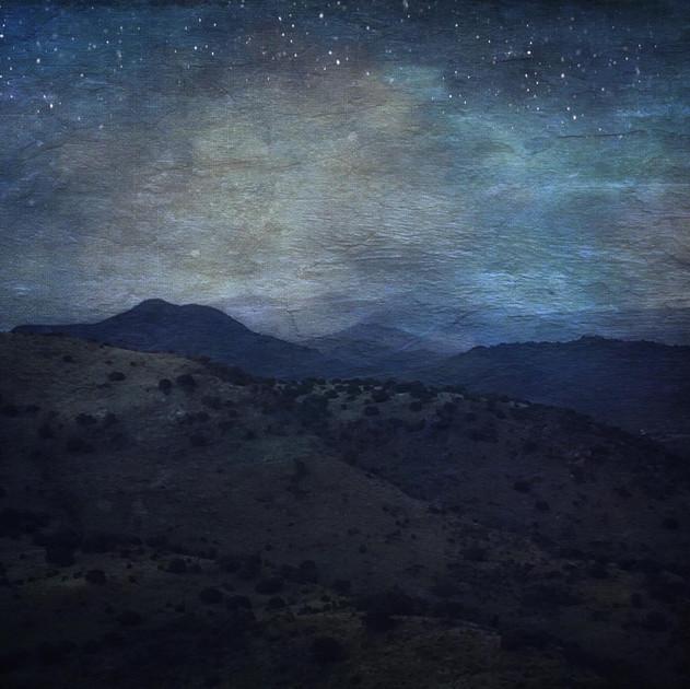 Nightfall Over The Mountains