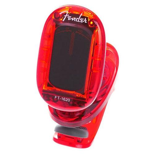 Afinador Fender Ft-1620 C/pinza Rojo