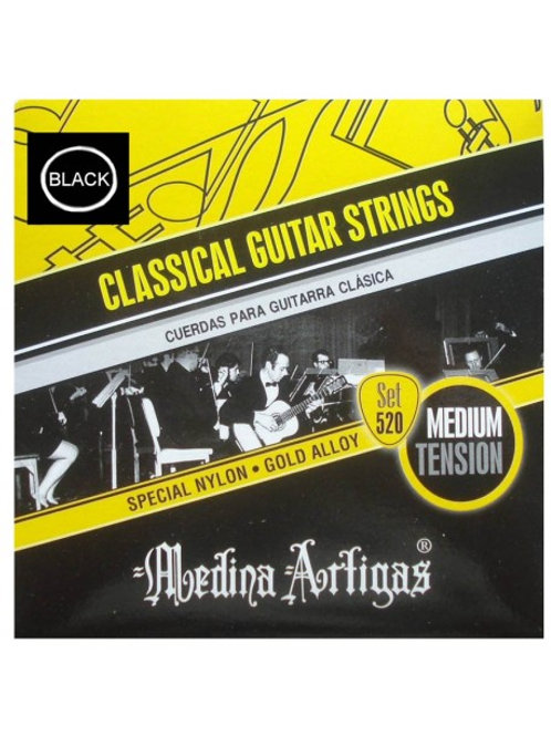Cuerdas Medina Artigas Gui. Acust - Set 520