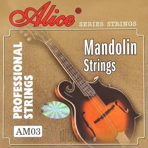 Set Cuerdas Mandolina Strings - Alice