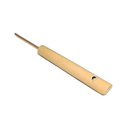 Silbato de bambu