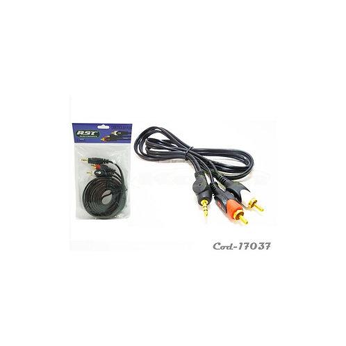 Cable Rca 2x1 plug