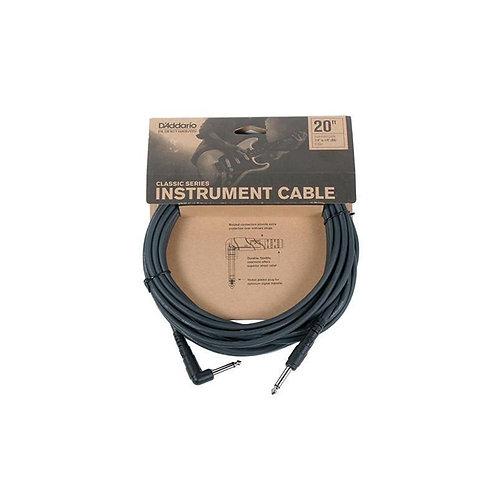 D'addario Cable Planet Waves Plug-plug 6mts.angulado