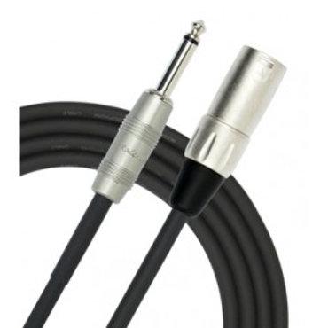 Cable Para Microfono Plug A macho - Kirlin 10 Metros