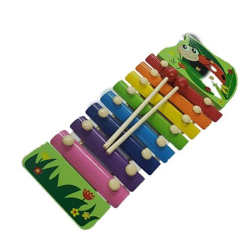 Xilofono grande animado -juguete didáctico -primeros pasos