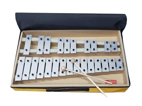 Metalofono Cromatico De 25 Notas C/funda. Fabrica