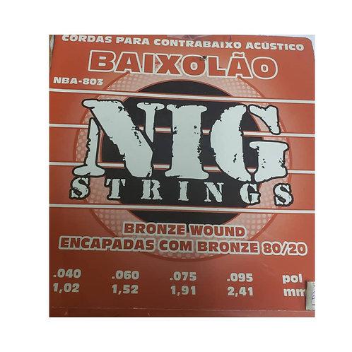 Set Cuerda Contrabajo Acustico Nig Strings